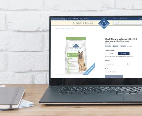 BlueVet Product Page