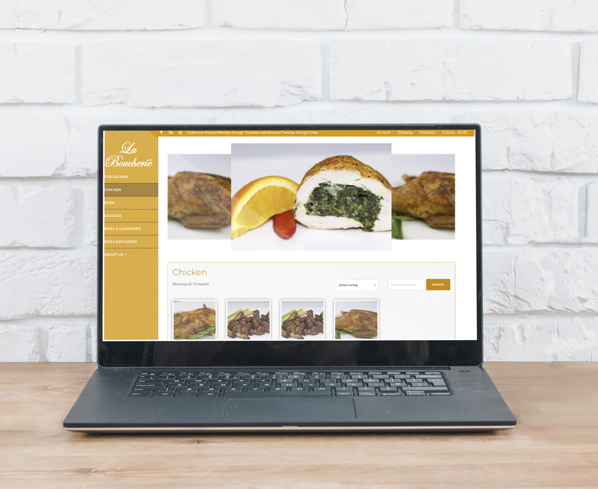 Cajun Meats Product Page