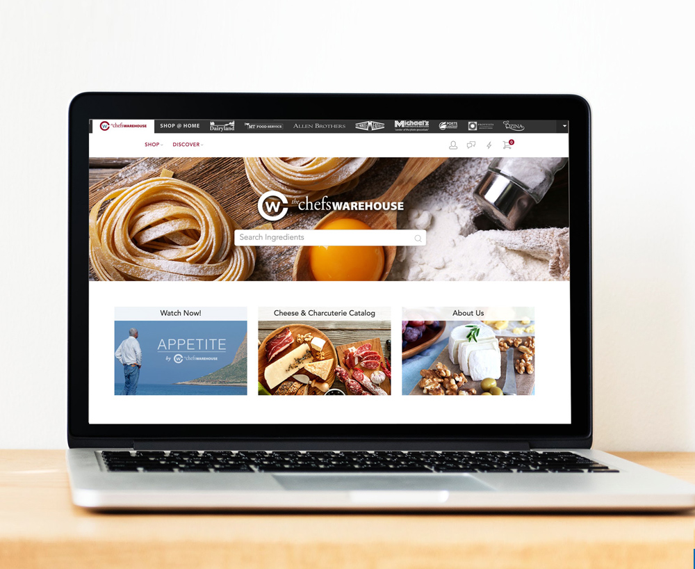 Chefs Warehouse Home Page