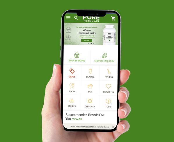 Pure Formulas Mobile