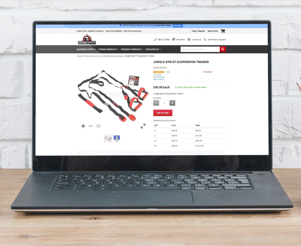 Sportsmith Product Page